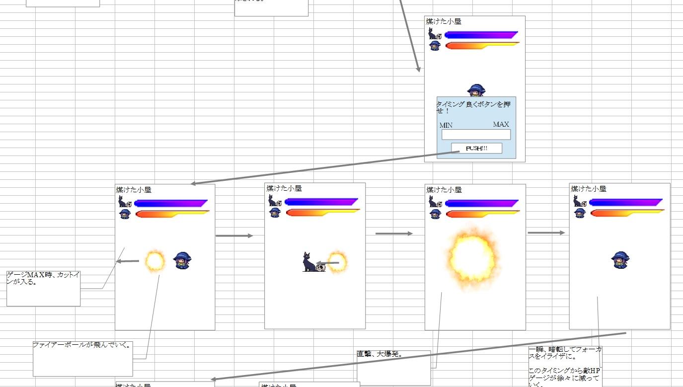 イライザのゴールドラッシュ_画面設計2-2